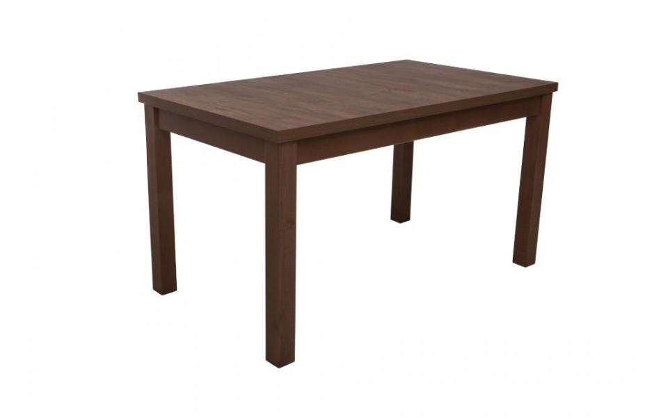 Jídelní rozkládací stůl DAN — 140x80cm + 60 cm, masiv, více barev