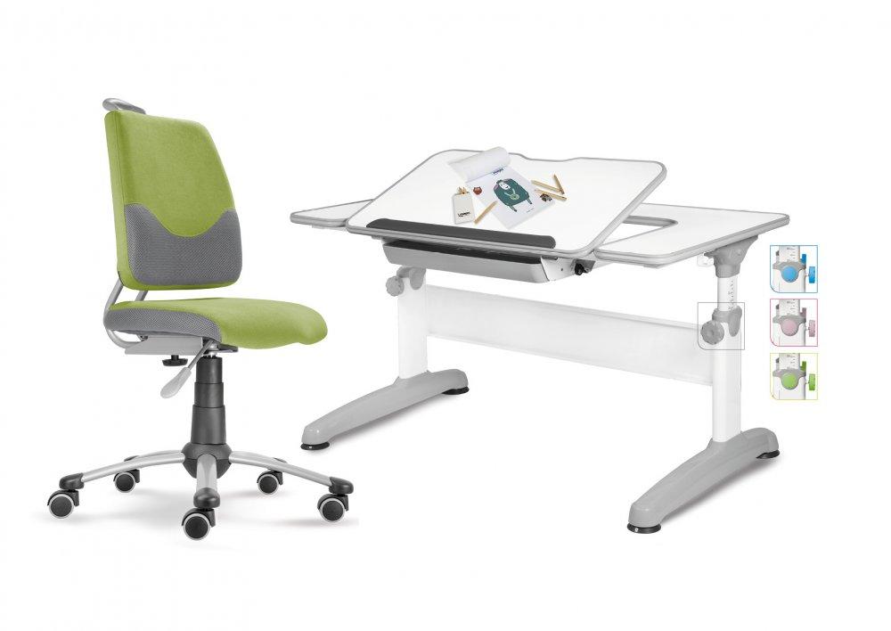 Dětský set Mayer – rostoucí židle ACTIKID A3 a rostoucí stůl UNIQ, zelený + dárek