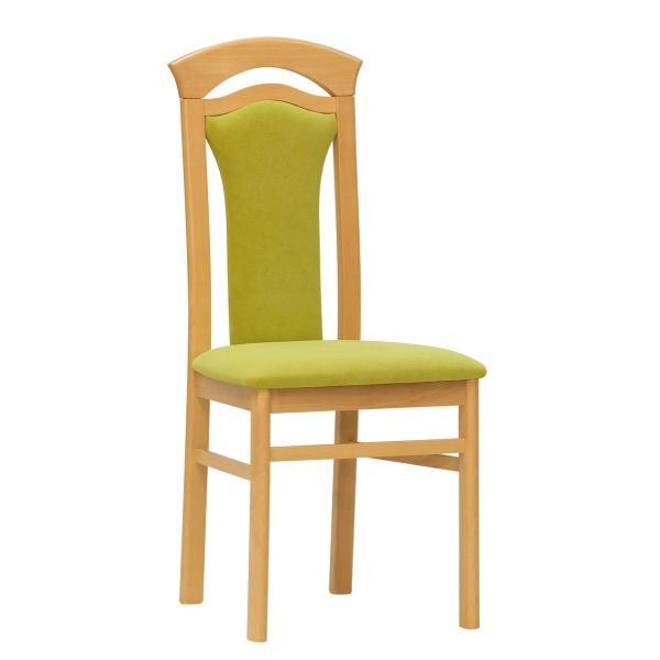 Dřevěná čalouněná jídelní židle Stima ERIKA – bez područek