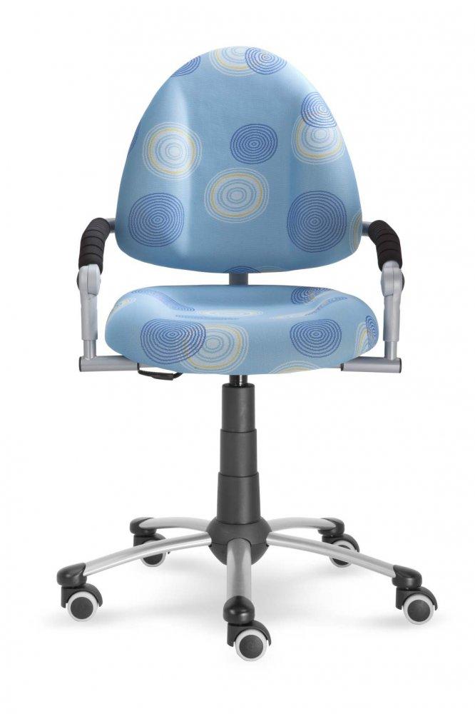 Rostoucí dětská židle na kolečkách Mayer FREAKY – s područkami Aquaclean zelená 2436 08 30 463