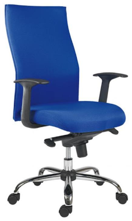 Kancelářská ergonomická židle Antares TEXAS MULTI — látka, modrá