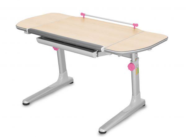 Dětský rostoucí stůl Mayer PROFI 3 32P3 54 TW – 5 barev, deska javor, 116×57–75×66