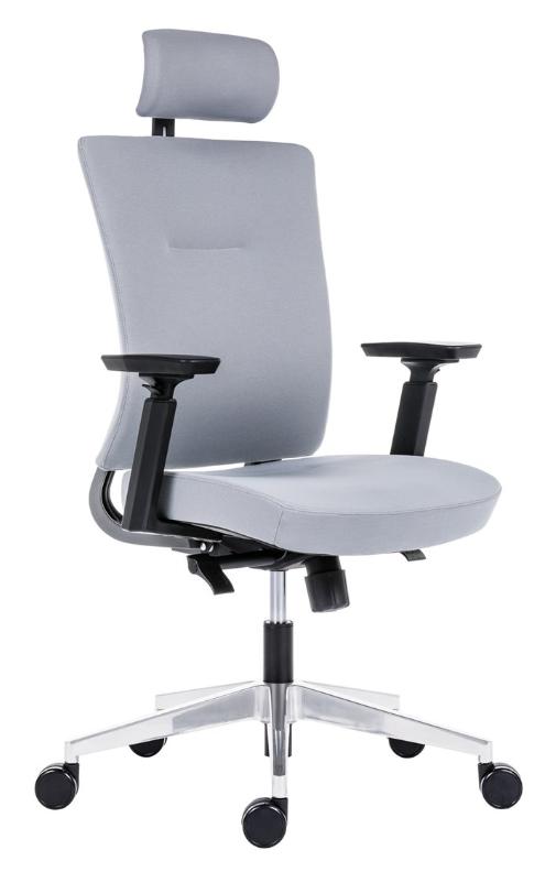 Kancelářská ergonomická židle Antares NEXT ALL UPH — šedá + Sleva 2 % při platbě předem