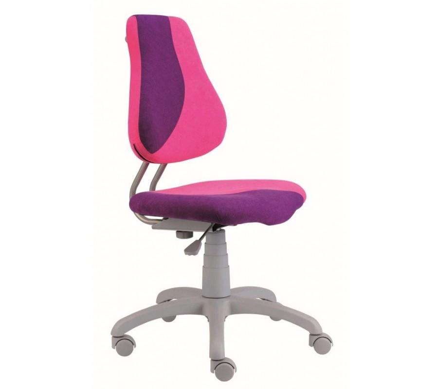 Dětská rostoucí židle na kolečkách Alba FUXO S-LINE – bez područek, více barev