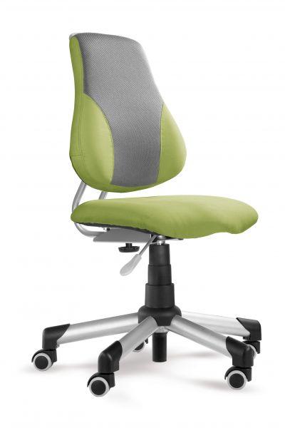 Rostoucí dětská židle na kolečkách Mayer ACTIKID A2 – bez područek Aquaclean zelená 2428 43