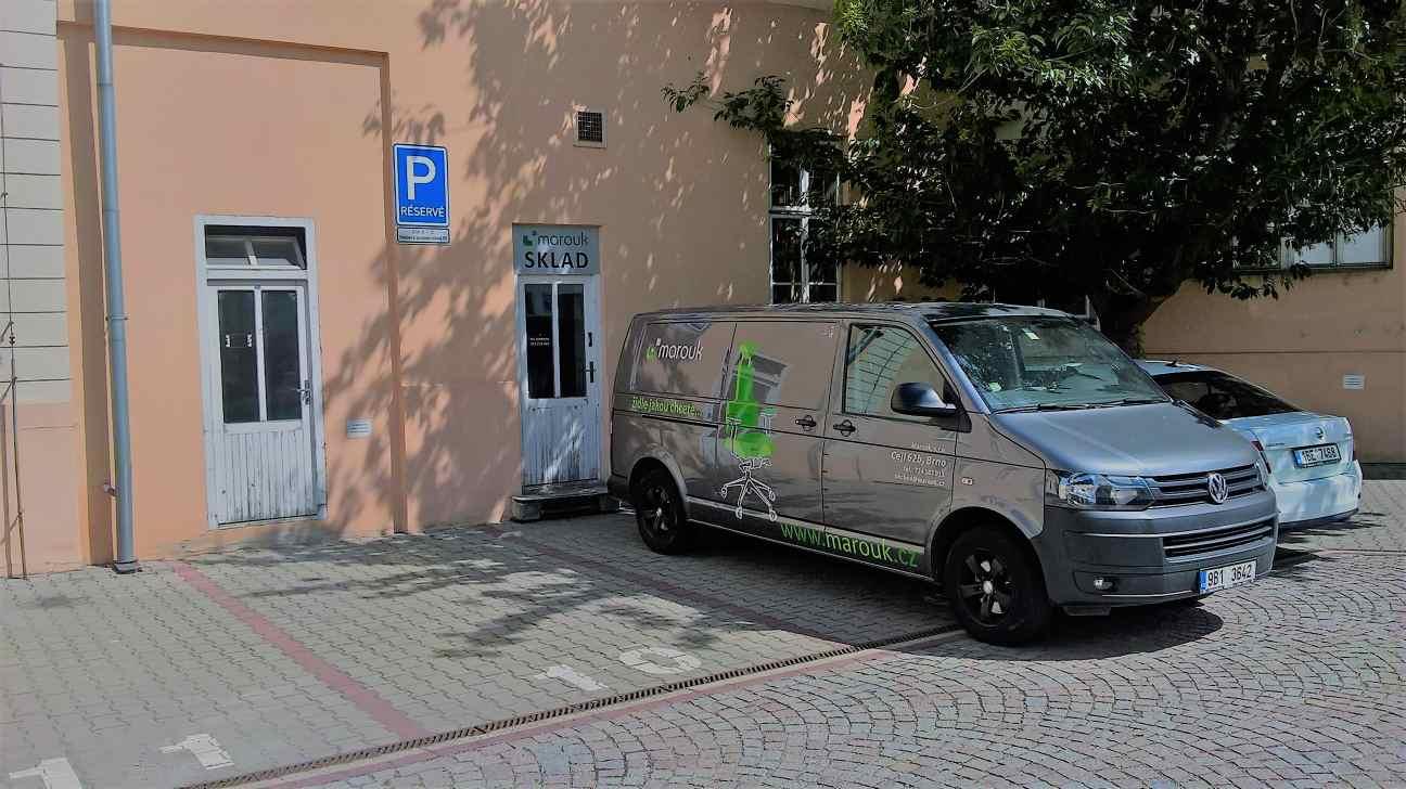 Sklad Brno kupžidle