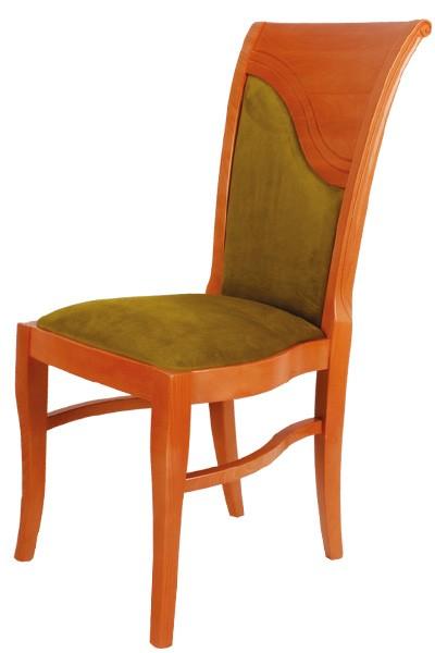 Jídelní dřevěná židle Bradop MARTINA – čalouněná, na míru