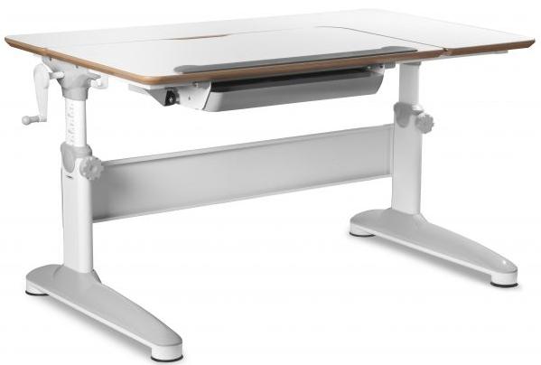 Dětský rostoucí stůl Mayer EXPERT 32E2 18 – bílá, 120×70x55-80