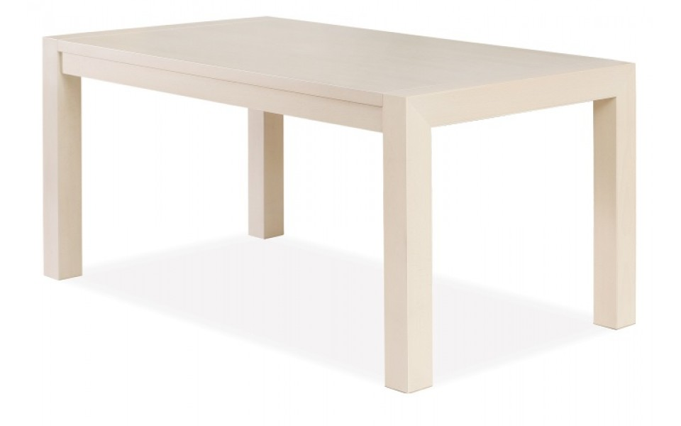 Jídelní rozkládací stůl KAMIL — 140x80cm + 60 cm, masiv, více barev