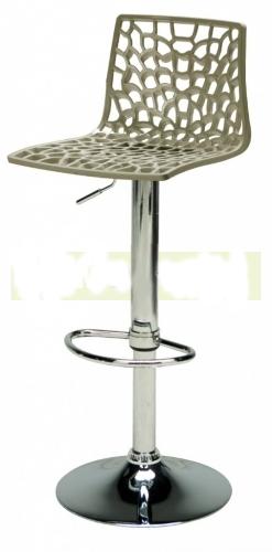 Barová výškově stavitelná židle Stima SPIDER bar – sedák plast, více barev Grigio perla