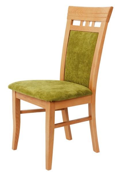 Jídelní dřevěná židle Bradop ŽOFIE – čalouněná, na míru